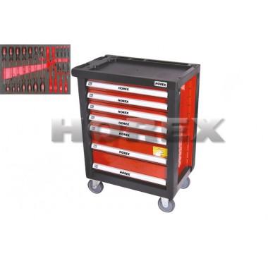 Тележка для инструмента (7 ящиков)+ комплект инструментов 27 предметов.