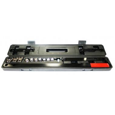 Набор приспособлений для снятия и установки натяжного ролика поликлинового ремня 16 пр.