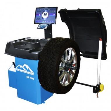Станок балансировочный с автовводом данных и ЖК-монитором CB1990B (для колес до 70 кг)