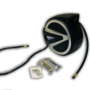 Катушка с пневмошлангом 15м для подачи сжатого воздуха Horex HL-GA15