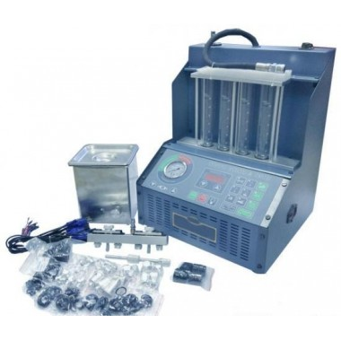 Стенд для тестирования и промывки инжектора со снятием / без снятия форсунок И-4Б