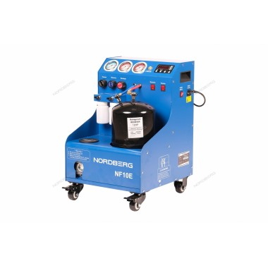 УСТАНОВКА полуавтомат для заправки автомобильных кондиционеров NORDBERG NF10E
