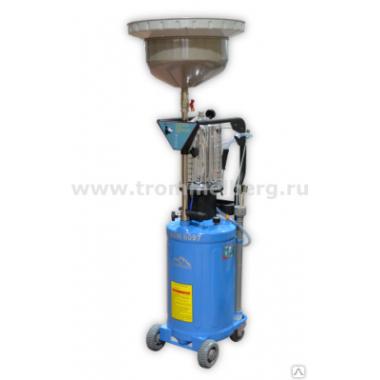 Установка для слива и откачки масла с воронкой и предкамерой - Trommelberg UZM8097